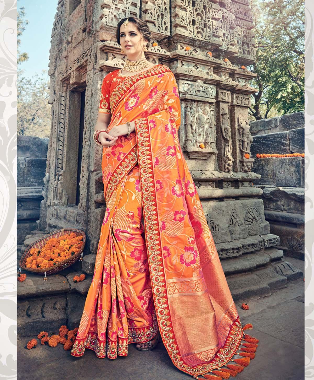 bc3923f5db7f52 Divine Designer Silk Saree – jodhpurigalax